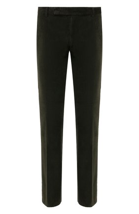 Мужские хлопковые брюки ANDREA CAMPAGNA зеленого цвета, арт. SC/1/DV0001 | Фото 1 (Материал внешний: Хлопок; Статус проверки: Проверена категория, Проверено; Длина (брюки, джинсы): Стандартные; Случай: Повседневный; Стили: Кэжуэл)
