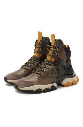 Кожаные кроссовки Tristan | Фото №1