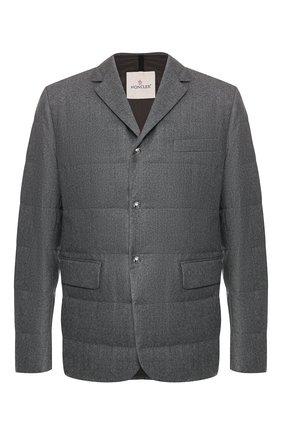 Шерстяная куртка Heliere | Фото №1