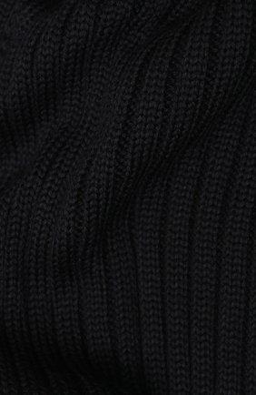 Мужской шерстяной шарф C.P. COMPANY темно-синего цвета, арт. 07CMAC217A-005509A | Фото 2