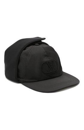 Мужской бейсболка VALENTINO черного цвета, арт. SY0HPA00DMZ | Фото 1