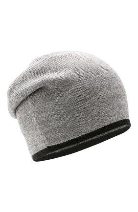 Детского шапка clean CANOE светло-серого цвета, арт. 5934272 | Фото 1
