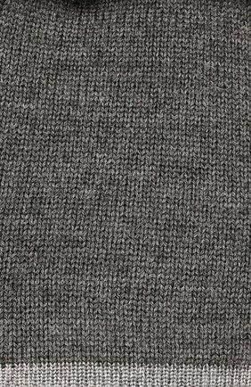 Детского шапка clean CANOE темно-серого цвета, арт. 5934271 | Фото 3