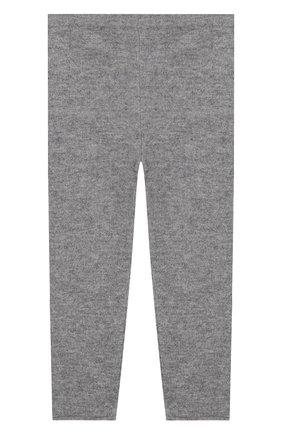 Детского кашемировые брюки IL GUFO серого цвета, арт. A19PL115EM300/5A-8A | Фото 1