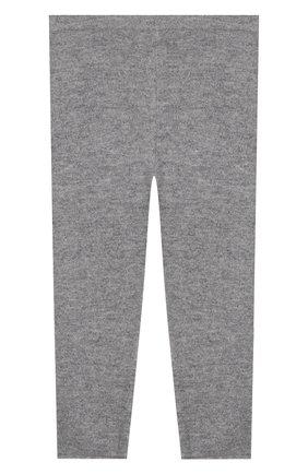 Детского кашемировые брюки IL GUFO серого цвета, арт. A19PL115EM300/5A-8A | Фото 2
