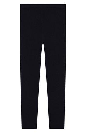 Детского кашемировые брюки IL GUFO темно-синего цвета, арт. A19PL115EM300/10A-12A | Фото 1