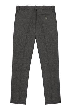 Детские брюки IL GUFO серого цвета, арт. A19PL088WR003/5A-8A | Фото 2