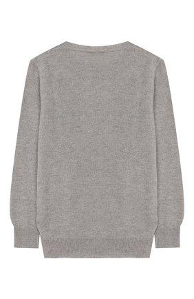 Детский шерстяной пуловер IL GUFO серого цвета, арт. A19MA303EM620/5А-8А | Фото 2