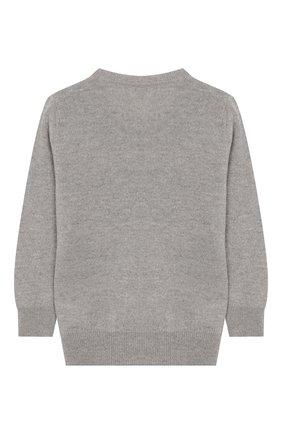 Детский шерстяной пуловер IL GUFO серого цвета, арт. A19MA303EM620/2А-4А | Фото 2
