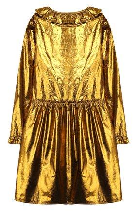 Детское платье STELLA MCCARTNEY золотого цвета, арт. 566728/SNK91 | Фото 2