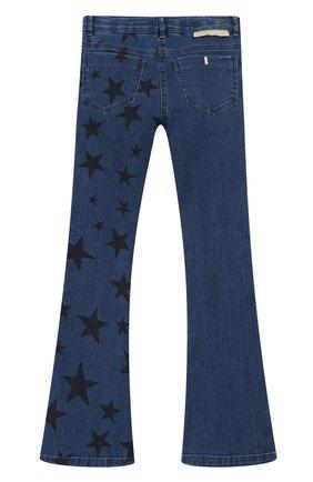 Детские джинсы STELLA MCCARTNEY голубого цвета, арт. 566557/SNK41   Фото 2