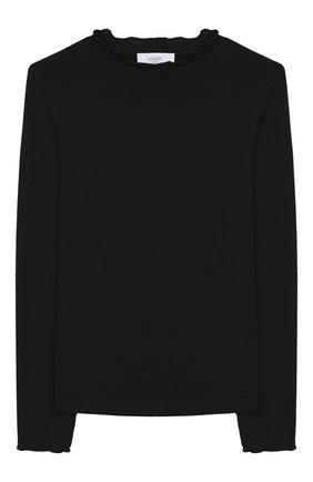 Детская лонгслив из вискозы PAADE MODE черного цвета, арт. 94093/6M-8Y | Фото 1