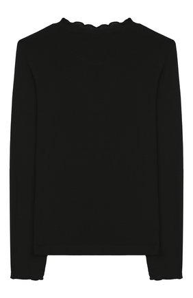 Детская лонгслив из вискозы PAADE MODE черного цвета, арт. 94093/6M-8Y | Фото 2