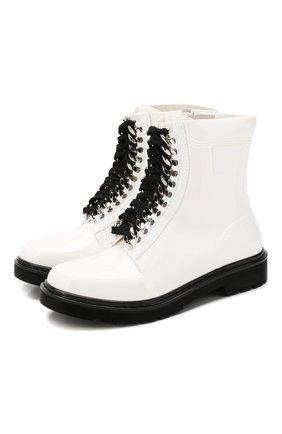 Женские резиновые ботинки CASADEI белого цвета, арт. 2R125N0201D00CC9999 | Фото 1