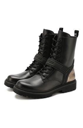 Кожаные ботинки Calypso | Фото №1