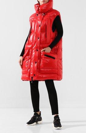 Женские текстильные кроссовки thelma MONCLER черного цвета, арт. E2-09A-20583-00-01AJH | Фото 2
