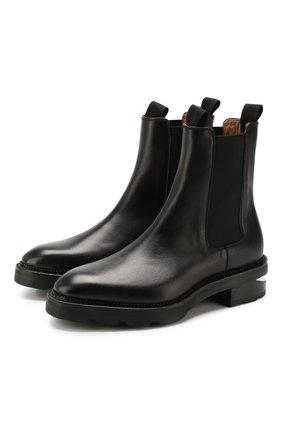 Женские кожаные челси andy ALEXANDER WANG черного цвета, арт. 30C219B010 | Фото 1