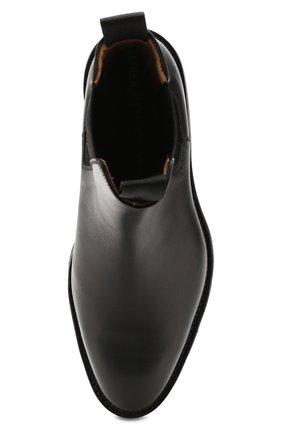 Женские кожаные челси andy ALEXANDER WANG черного цвета, арт. 30C219B010 | Фото 5
