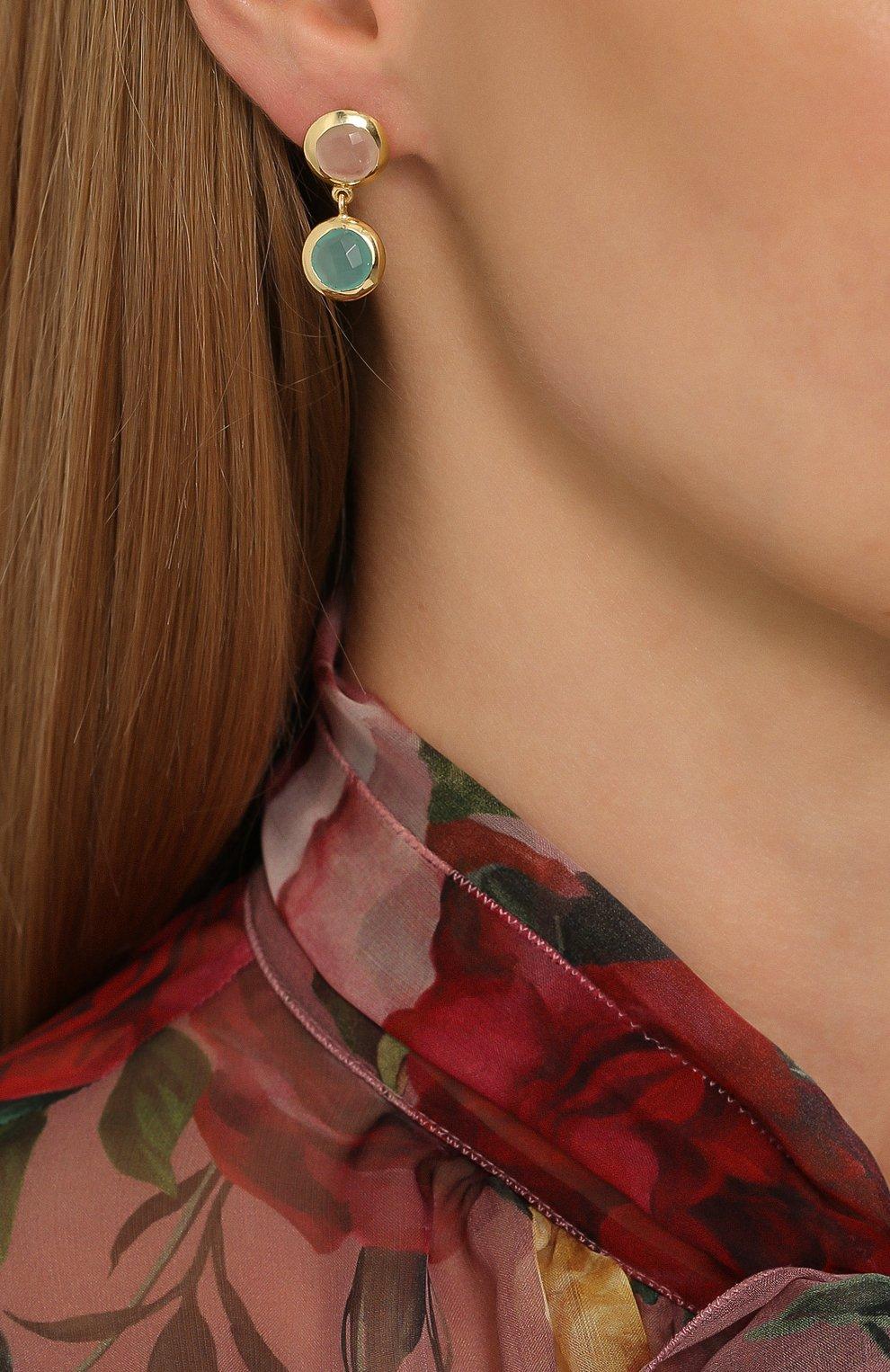 Женские серьги EXCLAIM разноцветного цвета, арт. 041M2946E | Фото 2