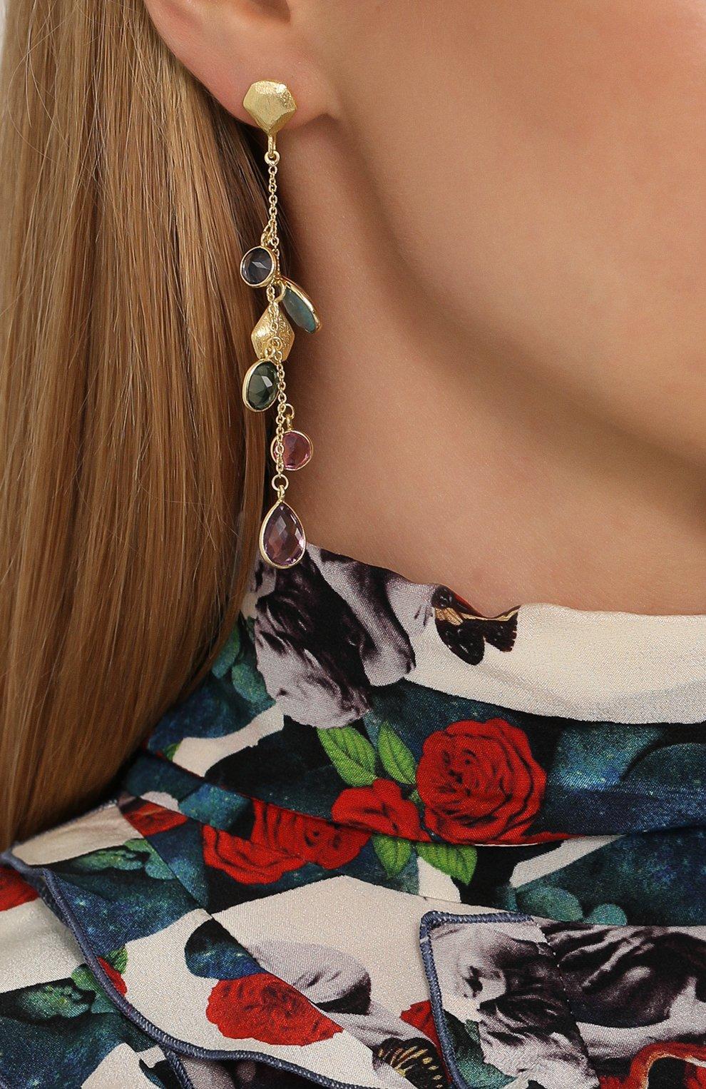 Женские серьги EXCLAIM разноцветного цвета, арт. 041M2939E   Фото 2