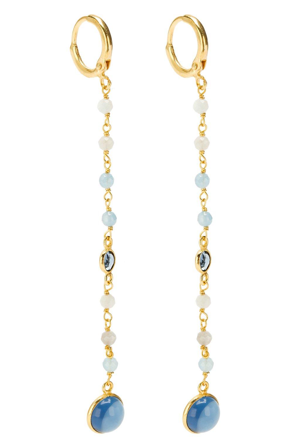 Женские серьги EXCLAIM золотого цвета, арт. 041G2943E | Фото 3