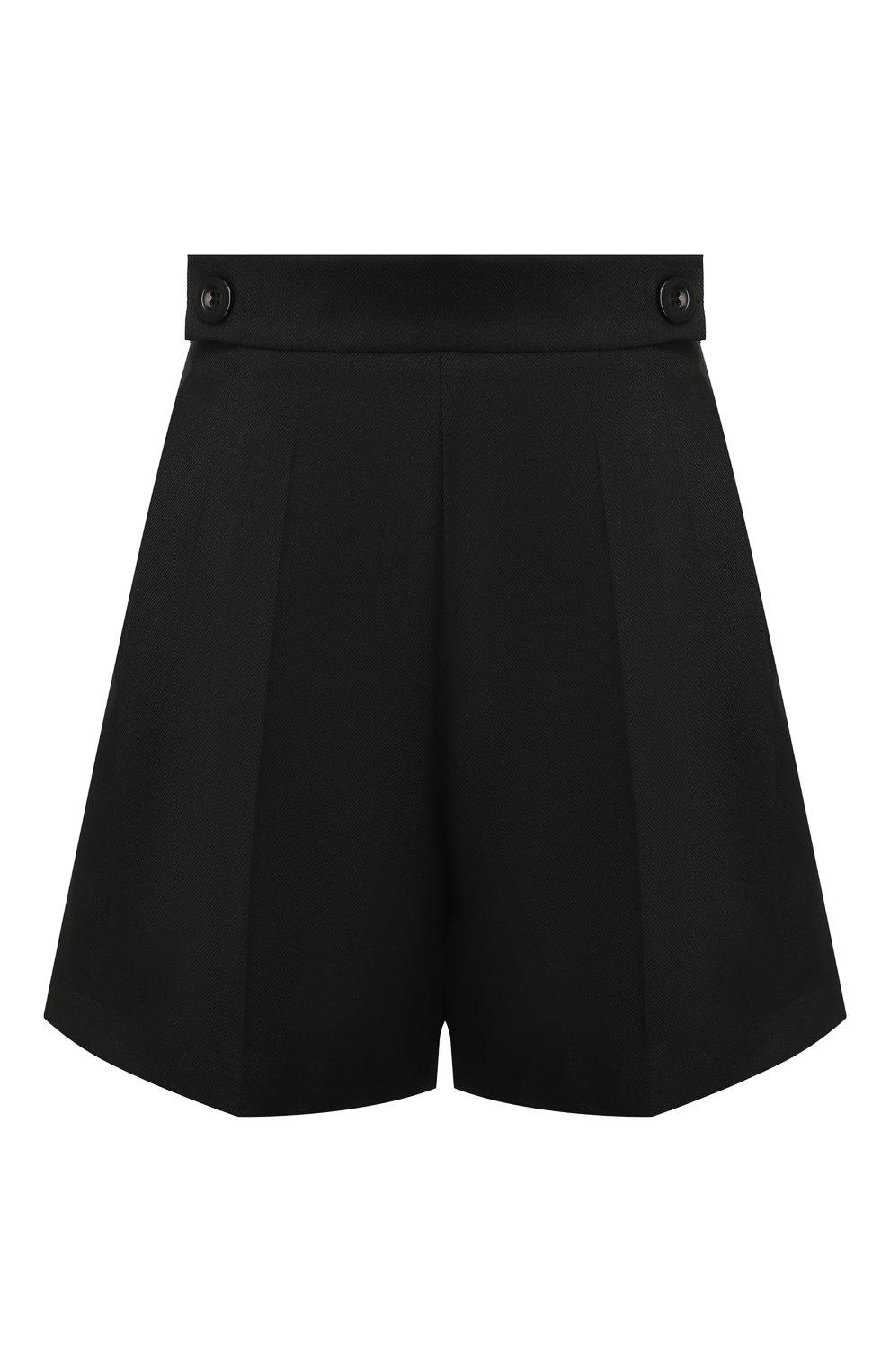 Женские шорты TEREKHOV GIRL черного цвета, арт. 2SR001/8799.900/W20 | Фото 1