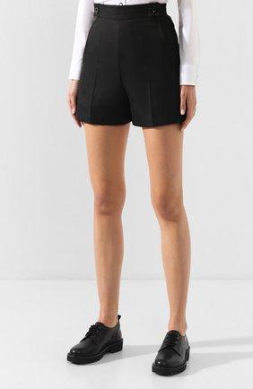 Женские шорты TEREKHOV GIRL черного цвета, арт. 2SR001/8799.900/W20 | Фото 3