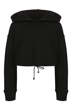 Женская хлопковое худи KORAL черного цвета, арт. A6316F74 | Фото 1