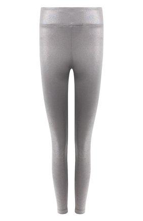Женские леггинсы KORAL серебряного цвета, арт. A2038HB22 | Фото 1