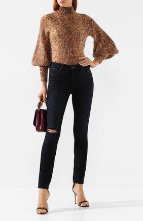Женские джинсы PAIGE черного цвета, арт. 1563734-6404 | Фото 2