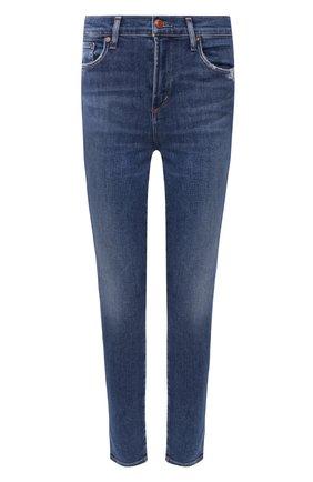 Женские джинсы AGOLDE синего цвета, арт. A123C-1156   Фото 1