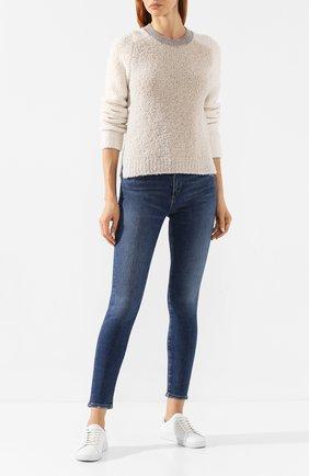Женские джинсы AGOLDE синего цвета, арт. A123C-1156   Фото 2