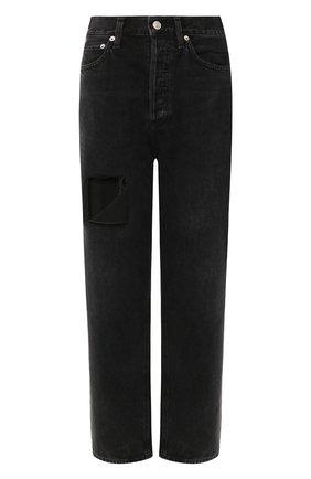 Женские джинсы AGOLDE черного цвета, арт. A069-1157   Фото 1