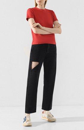 Женские джинсы AGOLDE черного цвета, арт. A069-1157   Фото 2