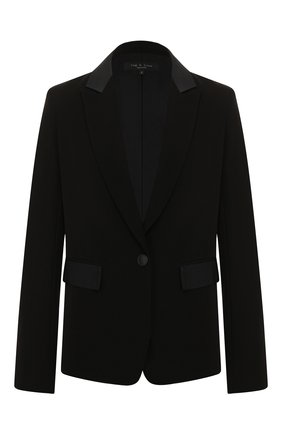 Женский жакет RAG&BONE черного цвета, арт. WAW19F4038M438 | Фото 1