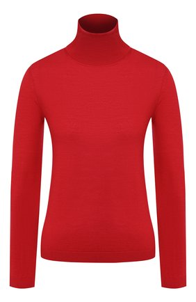 Женская водолазка из смеси шерсти и шелка REDVALENTINO красного цвета, арт. SR0KC03R/4A7 | Фото 1