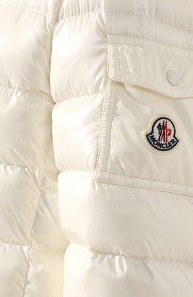 Женский пуховая куртка badyfur MONCLER белого цвета, арт. E2-093-46314-25-C0061 | Фото 5