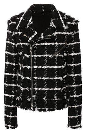 Куртка из смеси шелка и хлопка | Фото №1