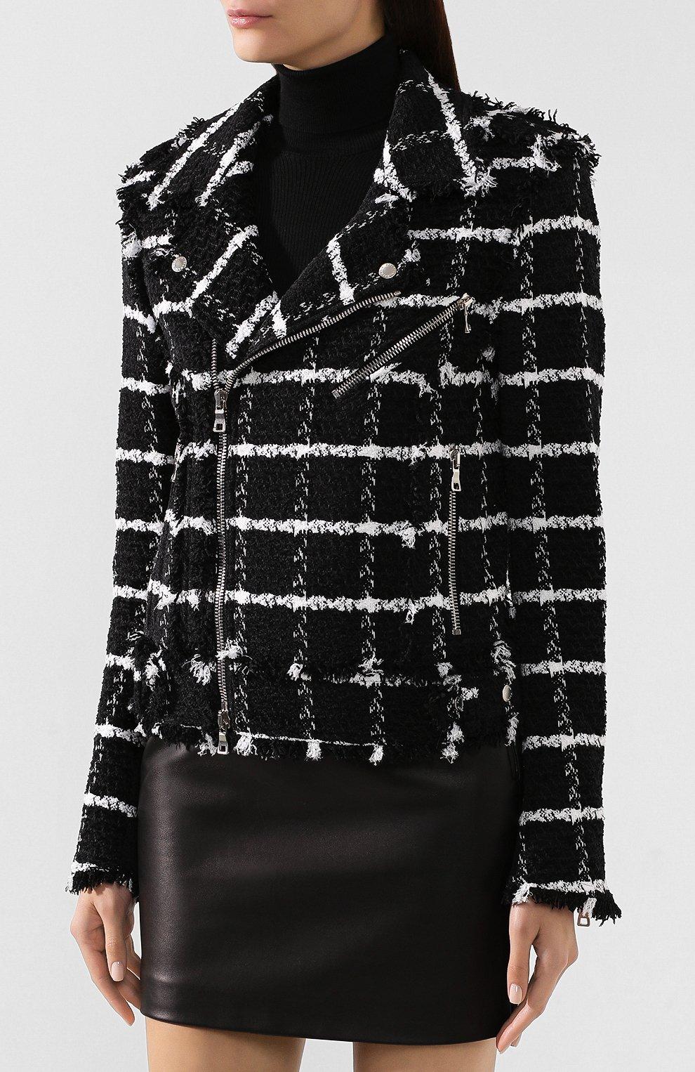 Куртка из смеси шелка и хлопка | Фото №3