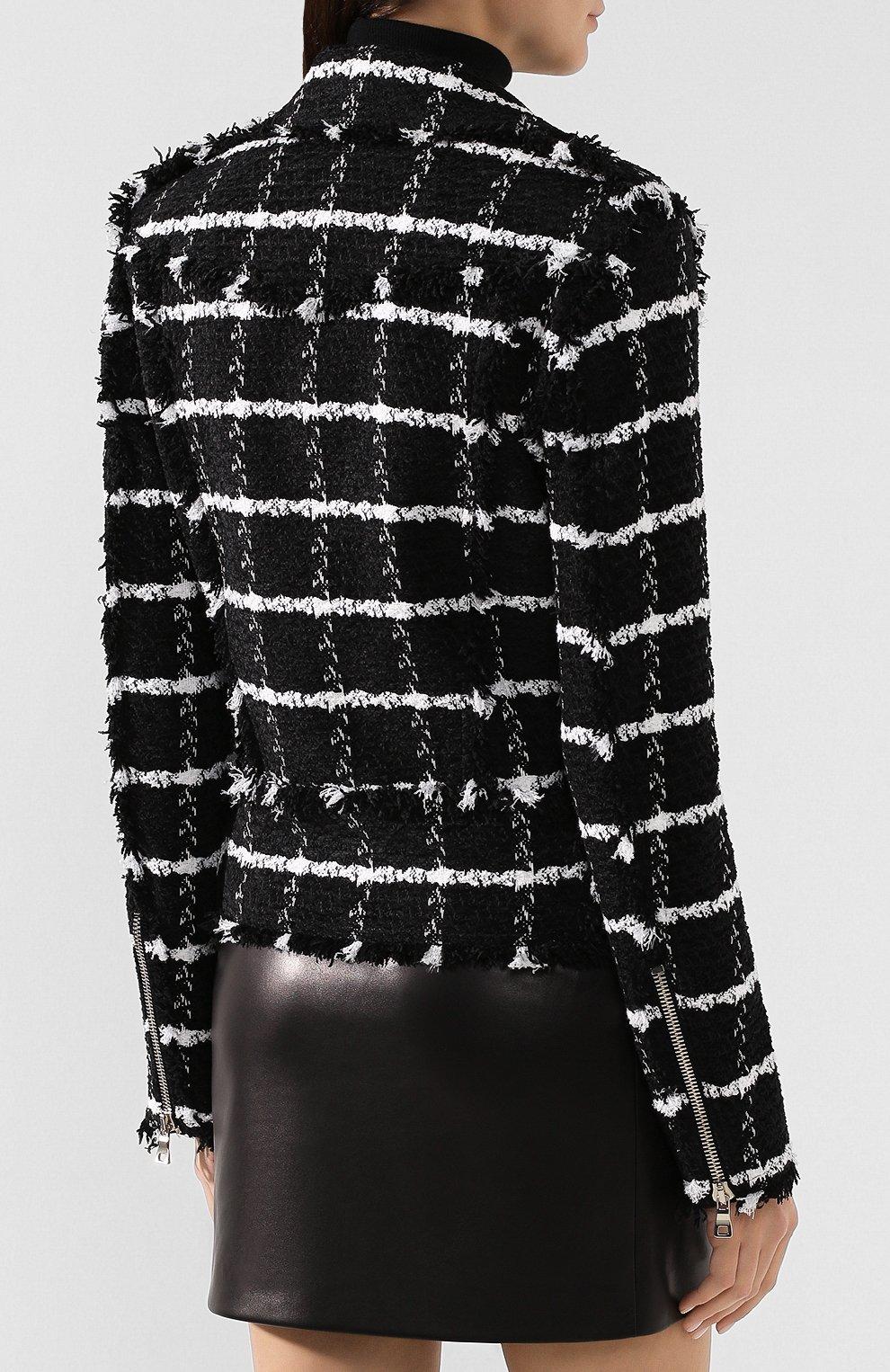 Куртка из смеси шелка и хлопка | Фото №4