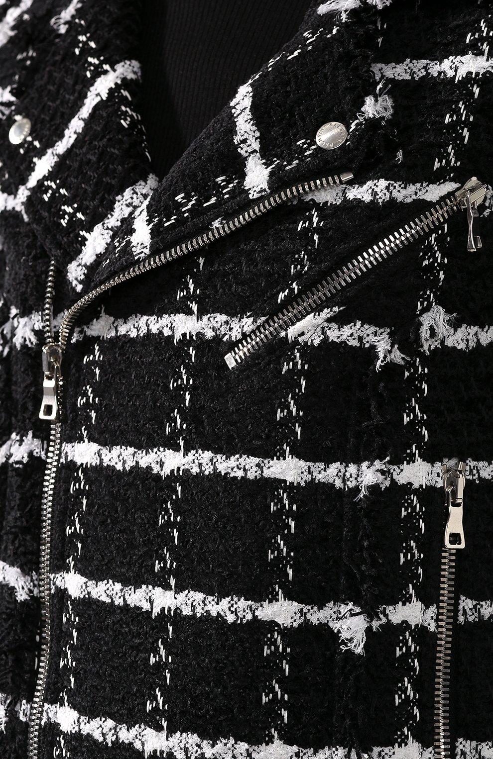 Куртка из смеси шелка и хлопка | Фото №5