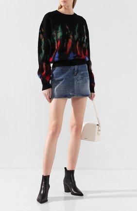 Женская шерстяной свитер DSQUARED2 разноцветного цвета, арт. S72HA0890/S16920 | Фото 2