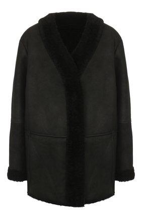 Женская дубленка TWINS FLORENCE черного цвета, арт. TWFAI19GIU10 | Фото 1