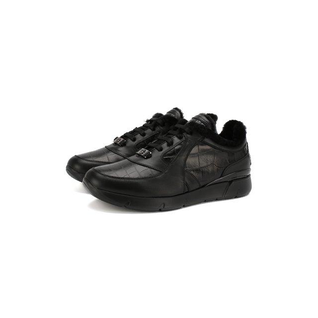 Кожаные кроссовки Billionaire — Кожаные кроссовки