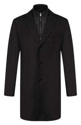Пальто из смеси шерсти и вискозы | Фото №1