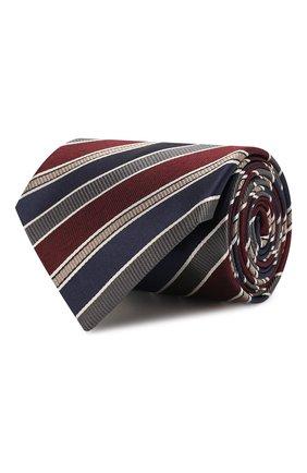 Мужской шелковый галстук BRIONI разноцветного цвета, арт. 062H00/08426   Фото 1