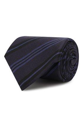 Мужской шелковый галстук KITON фиолетового цвета, арт. UCRVKLC09F86 | Фото 1
