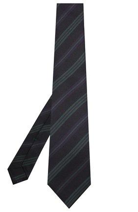 Мужской шелковый галстук KITON фиолетового цвета, арт. UCRVKLC09F86 | Фото 2