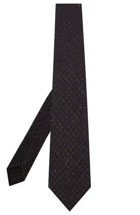 Мужской шелковый галстук KITON коричневого цвета, арт. UCRVKLC09F07 | Фото 2