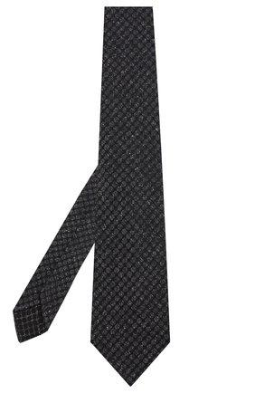 Мужской шелковый галстук KITON серого цвета, арт. UCRVKLC09F05 | Фото 2